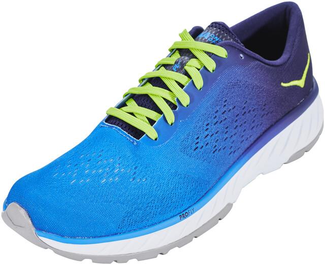 Hoka One One Cavu 2 Buty do biegania Mężczyźni, french bluelime green